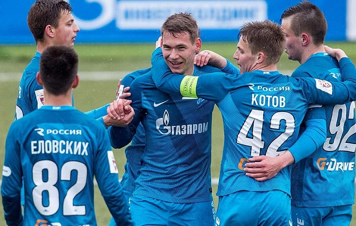 Zenit U21 deltager i Spax Cup international