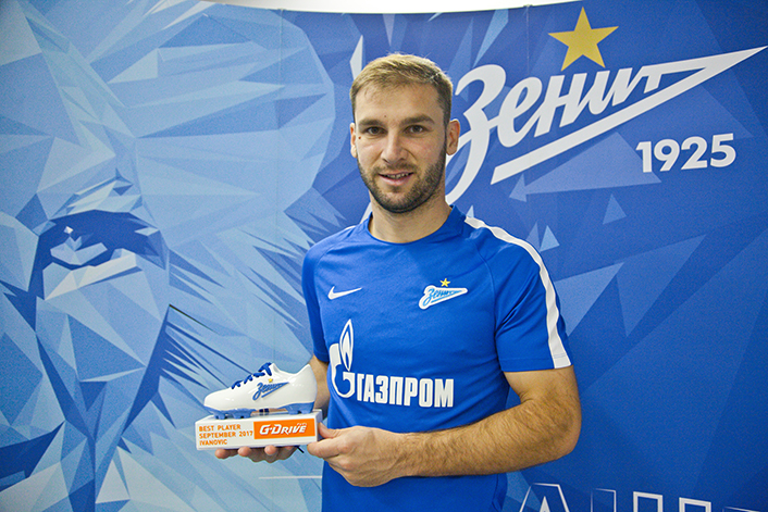 Branislav Ivanovic månedens spiller for september